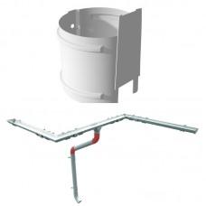 RUUKKI дюбель к креплению труби L=175 мм (металл)