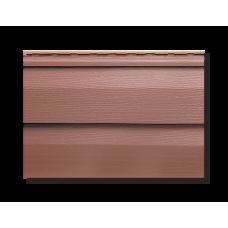 Сайдинг Альта-Профиль коллекция KANADA+ (красно-коричневый)